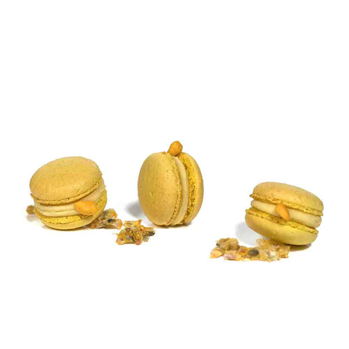 Macaron cookie without animal protein