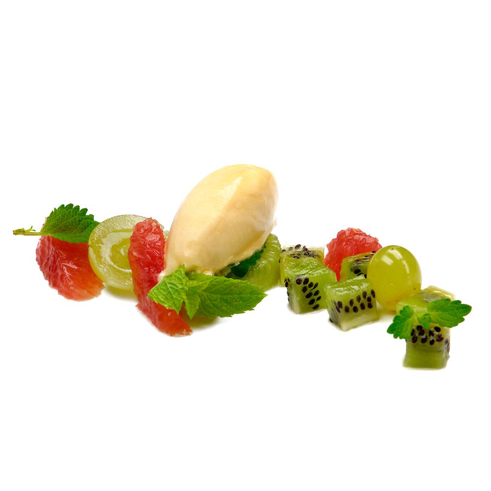 Semi-sorbet de fruita