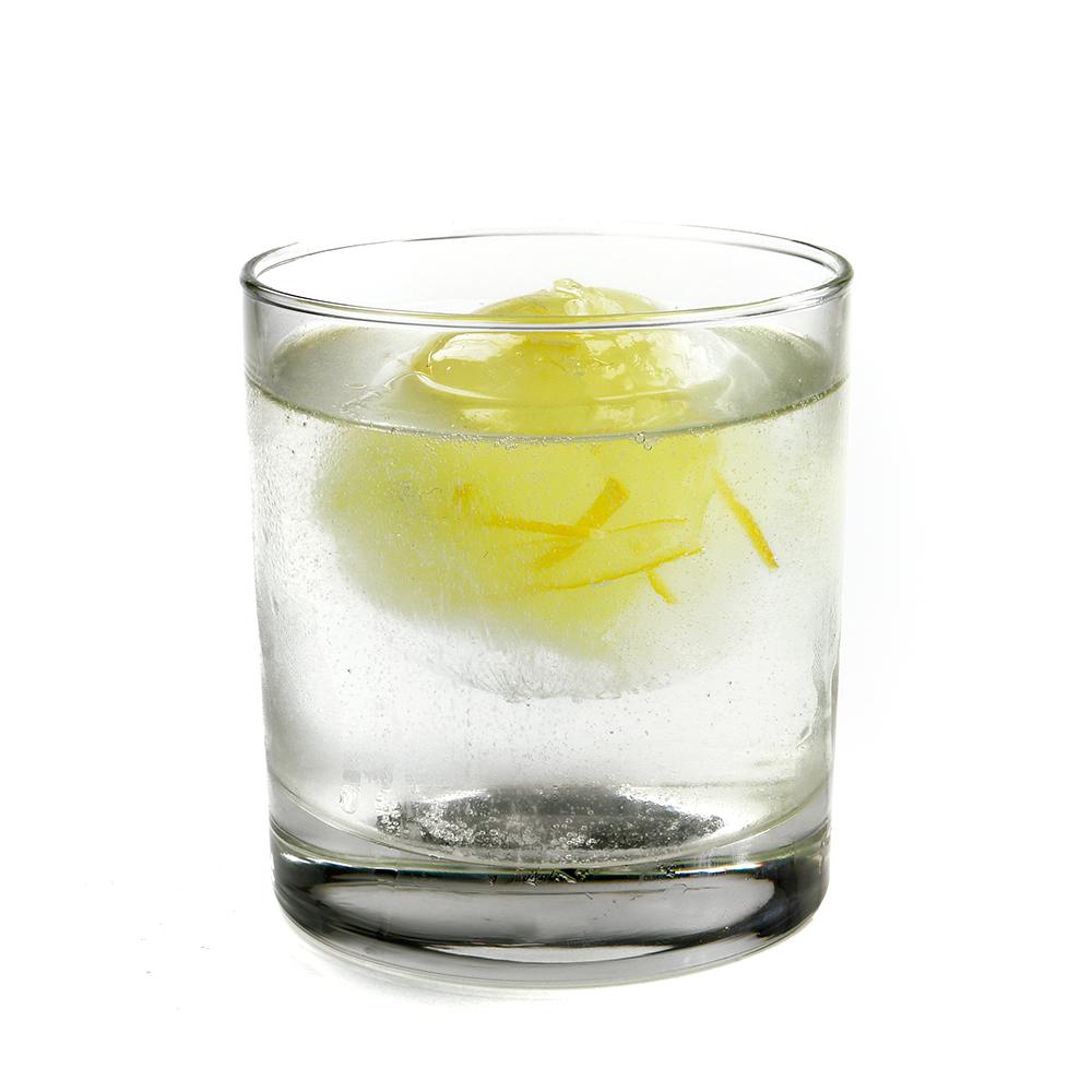 Gin tònic aromatitzat amb fum de citronella