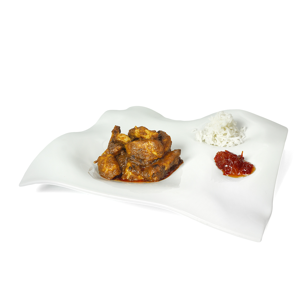 Estofat de pollastre amb salsa korma