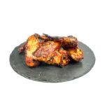 Aletes de pollastre amb salsa barbacoa