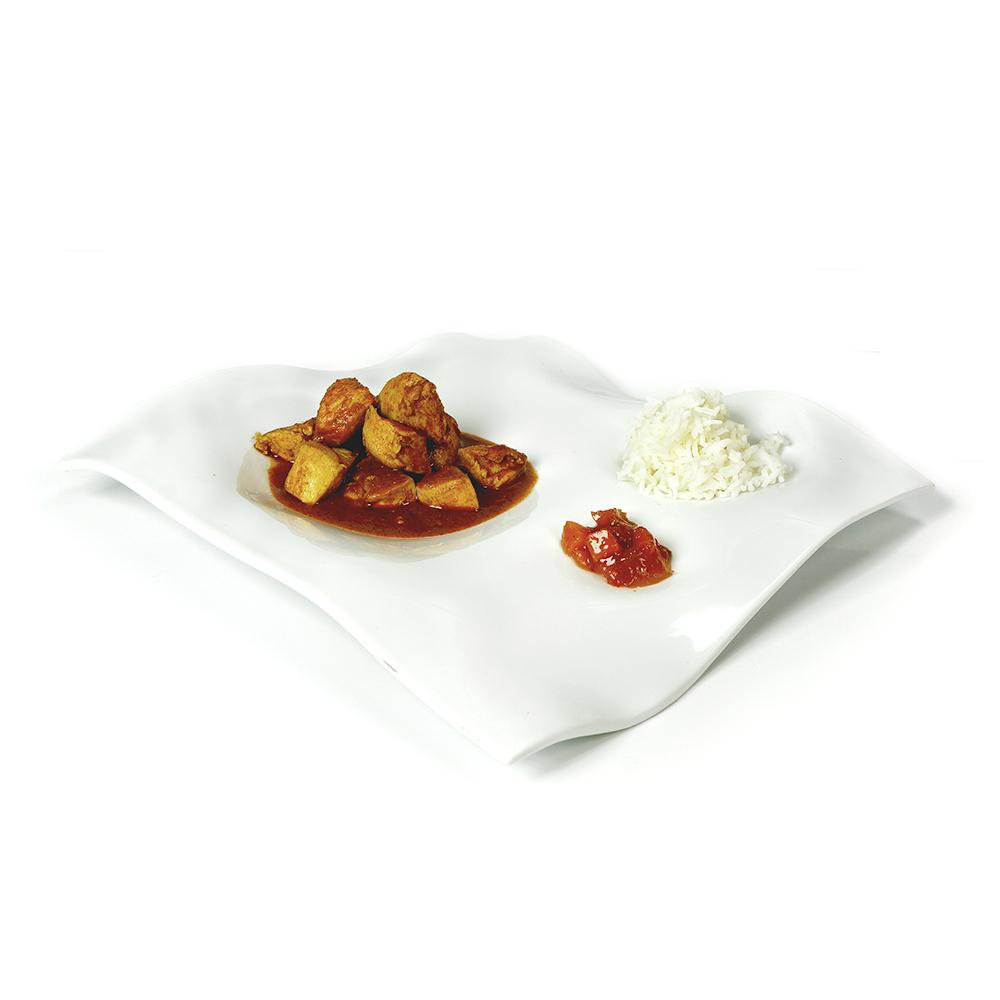 Estofat de pollastre amb arròs basmati