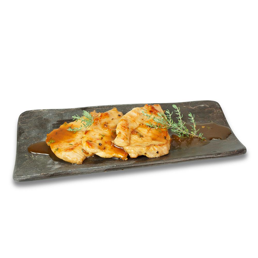 Filet de porc amb salsa porto