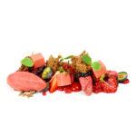 Textures de xocolata i fruits vermells per Jordi Puigvert