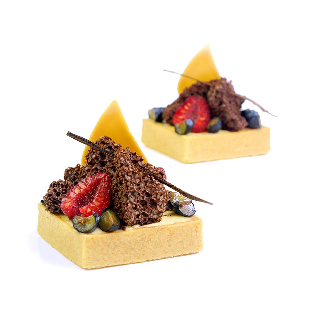 Crema de fruites i mascarpone